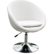 Barrel Adjustable Leisure Swivel Barrel Chair by Ceets