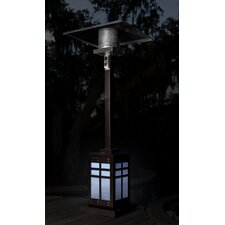 Square Illuminated 46,000 BTU Propane Patio Heater