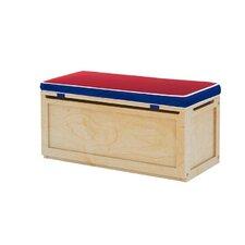 Toy Storage Box with Seat Pad by Maxtrix Kids