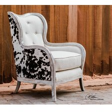 Chalina Wingback Chair by Uttermost