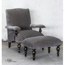 Eavan Chenille Arm Chair by Uttermost