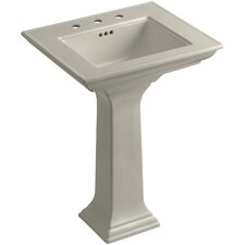 "Memoirs 24.5"" Pedestal Bathroom Sink"