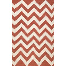 Diccon Red Area Rug