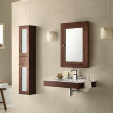 Adina 31 Single Wall Mount Bathroom Vanity Set with Mirror by Ronbow