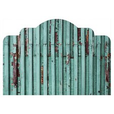 Distressed Adhesive Headboard Wall Mural