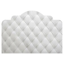Faux Tufted Adhesive Headboard Wall Mural
