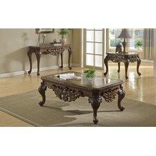 2 Piece Coffee Table Set by BestMasterFurniture
