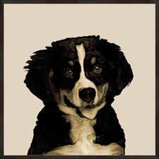 Doggy Portrait A Framed Graphic Art