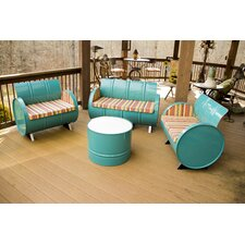 Outer Banks 4 Piece Seating Group with Cushions by Drum Works Furniture