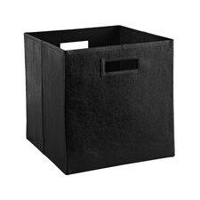 Decorative Storage Leather Bin