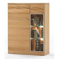 Madea Solid Beech Display Cabinet