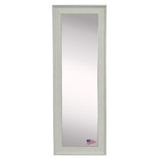 Ava Vintage White Floor/Wall Mirror