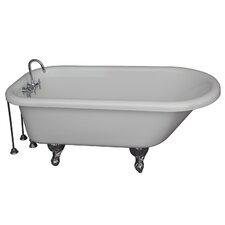 60 x 24.5 Soaking Bathtub Kit by Barclay