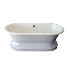 Duet 67 x 31 Soaking Bathtub by Barclay