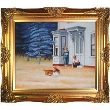 Cape Cod Evening by Edward Hopper Framed Painting Print