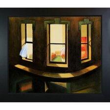Night Windows by Edward Hopper Framed Painting Print