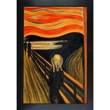 Munch The Scream by Edvard Munch Framed Painting