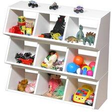 VHZ Stackable 3 Compartment Cubby
