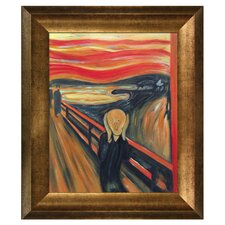 The Scream' Reproduction by Munch Framed Painting