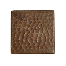 "Surface 3"" x 3"" Metal FieldTile in Oil Rubbed Bronze"