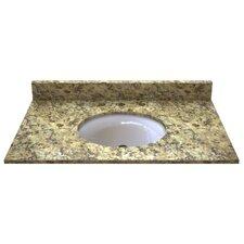 """Granite 37"""" Single Bathroom Vanity Top"""