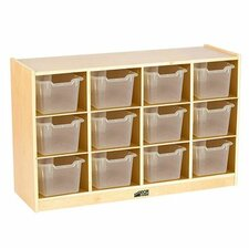 12 Compatment Cubby with Bins by ECR4kids