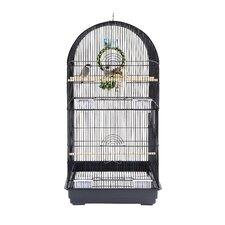 Caracus Bird Cage in Black