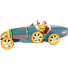 Collectible Tin Toy Model Bugatti