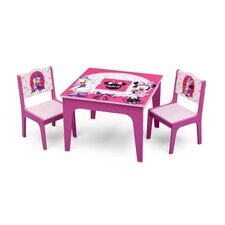 Minnie Mouse Kids 3 Piece Table and Chair Set by Delta Children