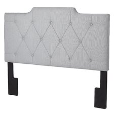 Inset Upholstered Panel Headboard