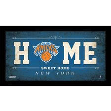Home Sweet Home Sign Framed Textual Art