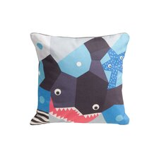 Oceanography Cubist Print Toddler Pillow Case