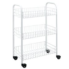 3 Tier Rolling Utility Cart