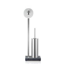 Menoto Free-Standing Toilet Roll and Brush Holder