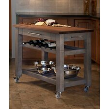 Mobile Kitchen Island mobile kitchen island 8 Metro Mobile Kitchen Island With Solid Walnut Top