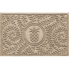 Aqua Shield Boxwood Pineapple Doormat