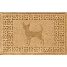 Aqua Levi Chihuahua Doormat