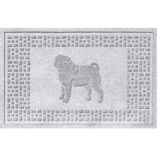 Aqua Shield Pug Doormat
