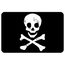 Surfaces Jolly Roger Doormat