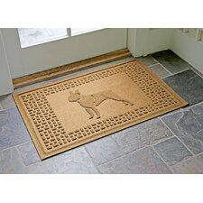 Aqua Shield Boston Terrier Doormat