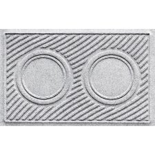 Aqua Shield Wave Pet Feeder Doormat