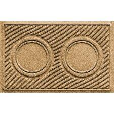 Aqua Shield Wave Pet Feeder Doormat