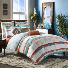 Mexico City Siesta 3 Piece Duvet Cover Set