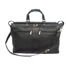 """Traveler 19"""" Leather Travel Duffel with Pockets"""
