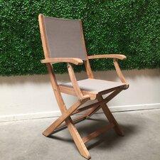 Stella Folding Dining Arm Chair (Set of 2)