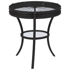 Spokes End Table by Mercury Row