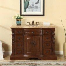 48 Single Sink Bathroom Vanity Set by Silkroad Exclusive