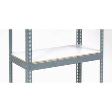 Melamine Laminate Deck with Additional Shelf for Rivet Lock