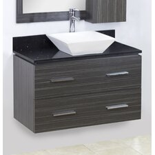 36 Single Modern Wall Mount Bathroom Vanity Set by American Imaginations