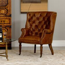 Welsh Wing back Chair by Sarreid Ltd